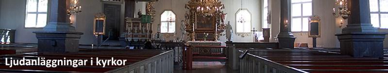 Ljudanläggningar i kyrkor